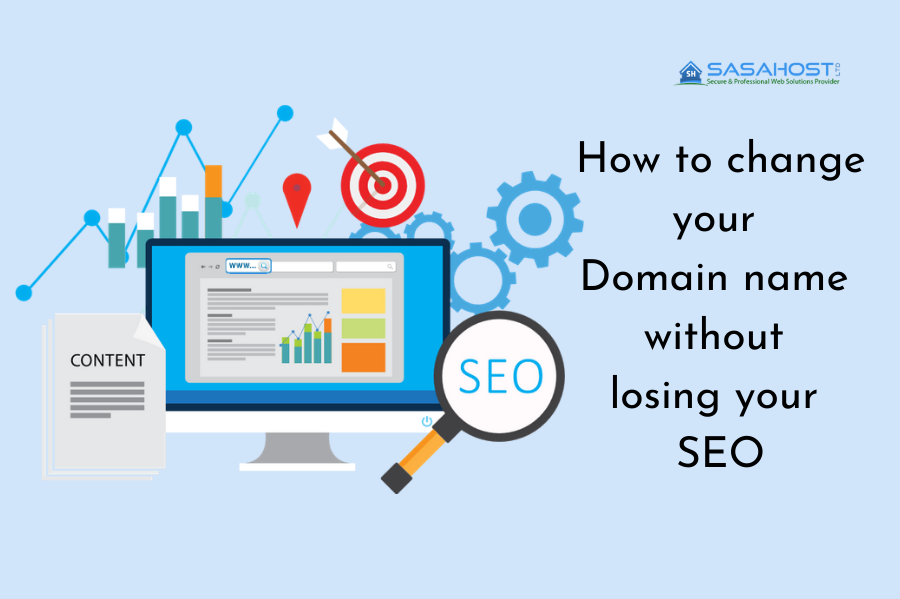 Domain name without losing SEO