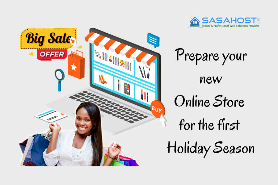 Prepare your new Online Store for the first Holiday Season