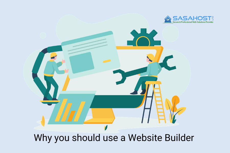 Why you should use a Website Builder