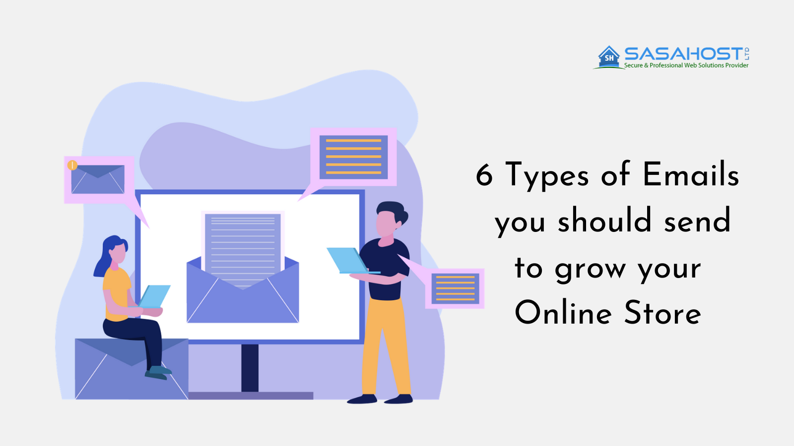 6 Types of Emails you should send to grow your Online Store