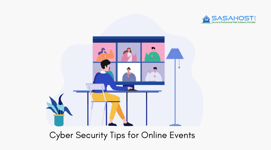 Cyber Security tips for online events