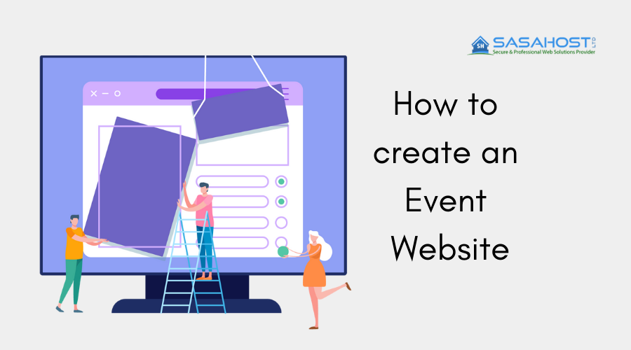 How to create an Event Website