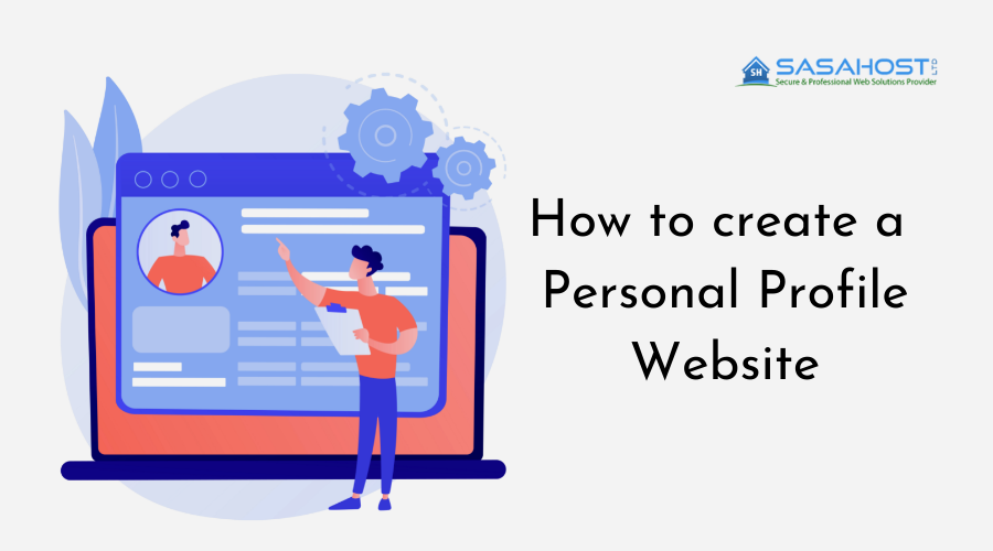 How to create a Personal Profile Website
